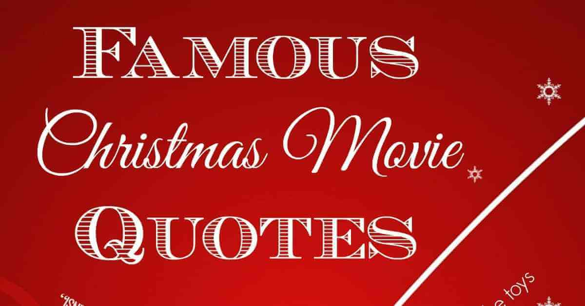 Christmas Quotes from Movies